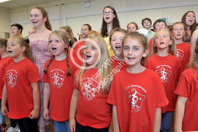 Harry Secombe Trust 15th Anniversary dress rehearsals at South Penlan Community Centre.