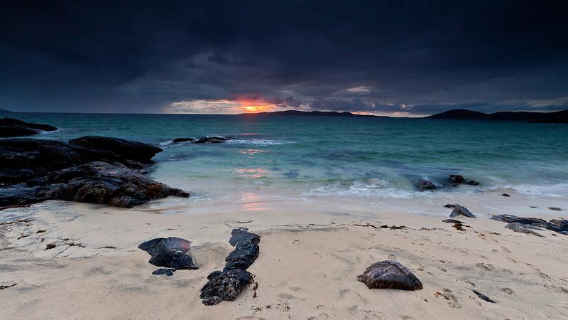 Nisabost Beach Sunset, Isle of Harris