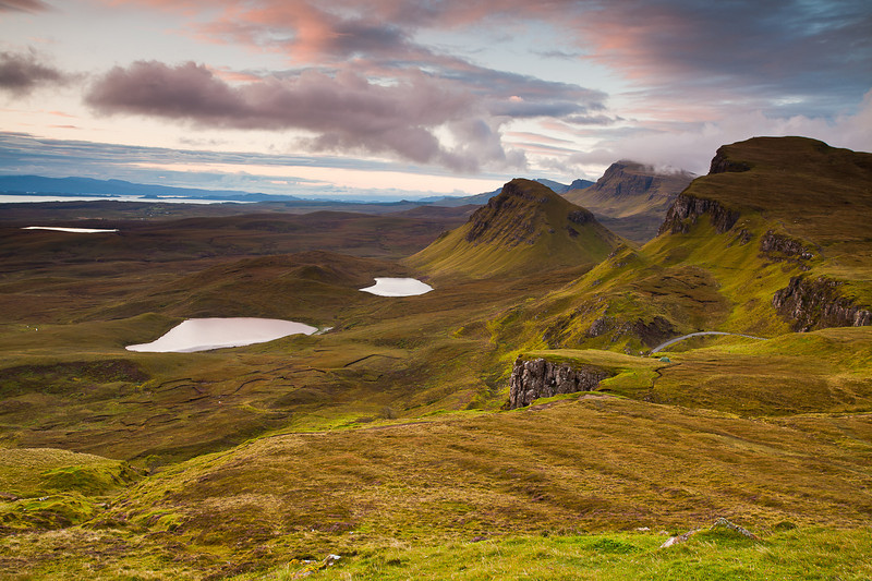 Trotternish Ridge from The Quiraing, Isle of Skye
