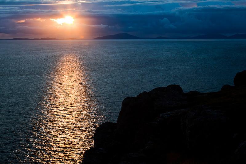 Sunset from Neist Point, Isle of Skye