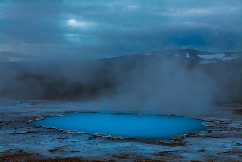 Blue pool, Hveravellir