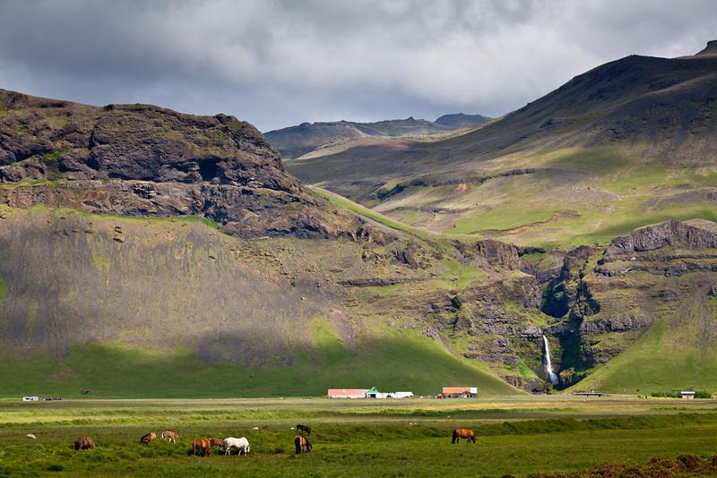 Highway 1, south-east of Reykjavik