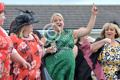 Ladies Day Race Meeting at Ffos Las Race Course. Please Byline... www.adrianwhitephotography.co.uk