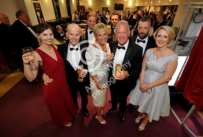 SWANSEA / with story cpyright adrian white/  Byline click4prints.com Friday 29th July 2016 Lord Mayor's Summer Honours Ball Swansea City Legend Alan Curtis with family and friends BYLINE .. click4prints.com