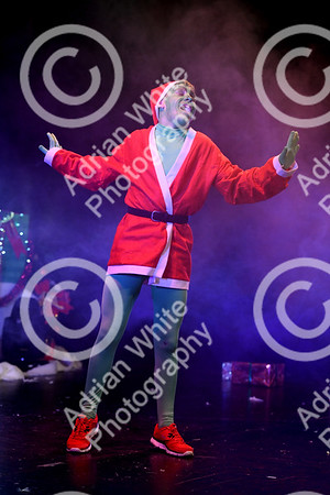 Mark Jermin 'Next Christmas' performance at the Penyrheol Leisure Centre. Byline ... www.click4prints.com