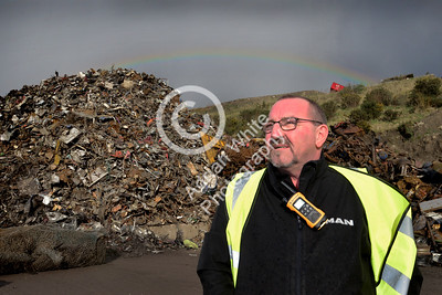 AJT Recycling Limited.. Life in Scrap longtail  Operations Manager Jonathan Davies  Copyright © 2018 by Adrian White Photography, all rights reserved. For permission to publish - contact me via www.adrianwhitephotography.co.uk Please respect copyright laws.