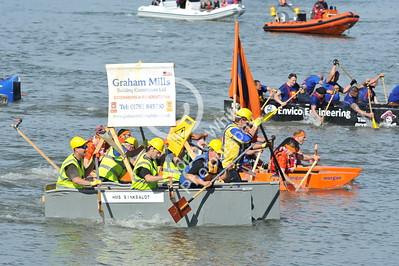 SWANSEA / copyright Adrian White Sunday 31st July 2016 Mumbles Raft Race BYLINE www.clic4prints.com