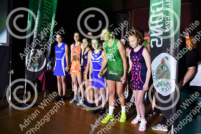 Celtic Dragons netball super league team  Enter the Dragons. A fanfare for the teams as they enter the court.   Copyright © 2019 by Adrian White  Photography, all rights reserved. For permission to publish - contact me via www.adrianwhitephotography.co.uk Please respect copyright laws.