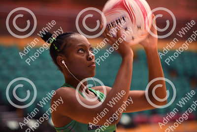 Celtic Dragons netball super league team  Celtic Dragons Kalifa McColin    Copyright © 2019 by Adrian White  Photography, all rights reserved. For permission to publish - contact me via www.adrianwhitephotography.co.uk Please respect copyright laws.