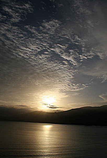 Sunrise, Lyttelton Harbour Mouth