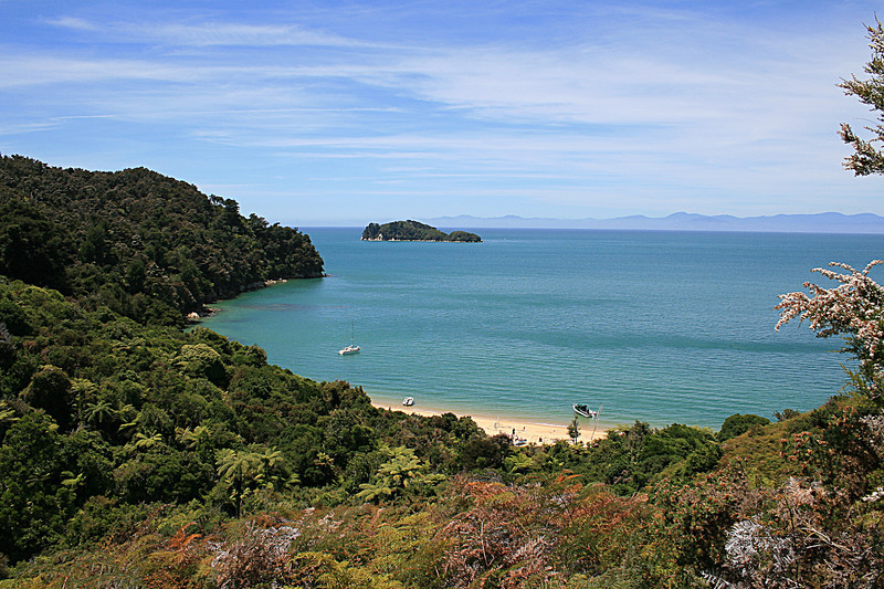 Bark bay,  Abel Tasman National park
