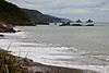 West Coase beach soth of Punakaiki