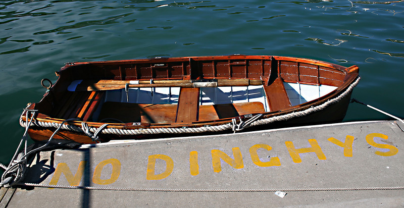 No Dinghys, Lyttelton Harbour