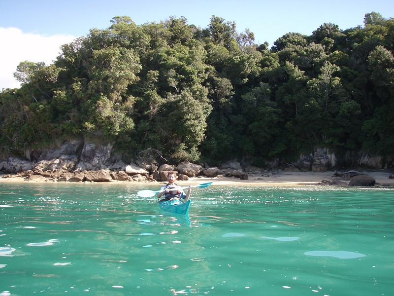 Sea kayaking, Abel Tasman National park