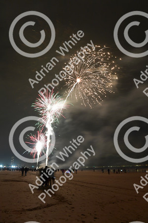 Swansea 50 years fireworks display Swansea Bay.   Copyright © 2019 by Adrian White  Photography, all rights reserved. For permission to publish - contact me via www.adrianwhitephotography.co.uk Please respect copyright laws.