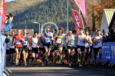 EAST / Copyright Adrian White Sunday 6th November 2016 Richard Burton 10k Road Race, Cwmavon.