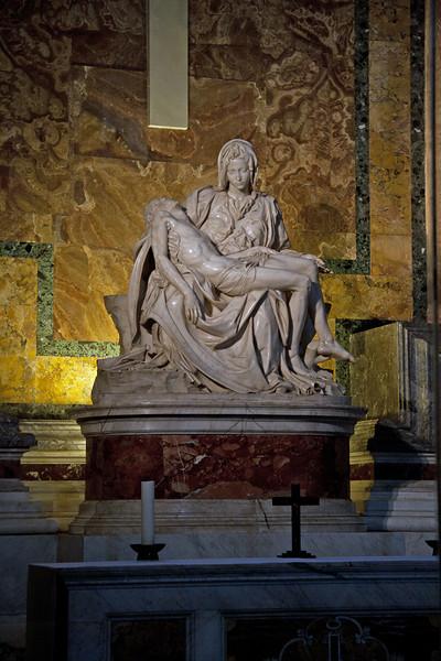 Michelangelo's Pieta - St Peter's Basilica