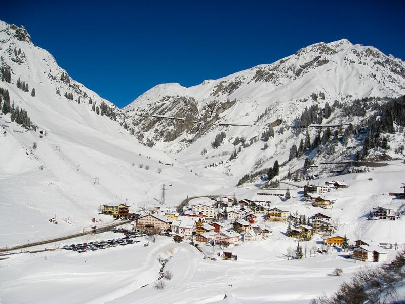 St Anton am Arlberg, Austria