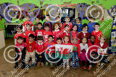 St Davids Day Supplement.. St Helens Primary  Reception Class -  Byline www.adrianwhitephotography.co.uk  Copyright © 2018 by Adrian White Photography, all rights reserved. For permission to publish - contact me via www.adrianwhitephotography.co.uk Please respect copyright laws.