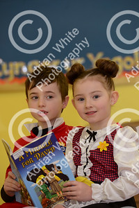 St Davids Day Supplement.. Brynmill Primary, Swansea  Tadhg (correct) Kilduff aged 6 and Ruby-Raye Davies aged 6.   Copyright © 2018 by Adrian White Photography, all rights reserved. For permission to publish - contact me via www.adrianwhitephotography.co.uk Please respect copyright laws.