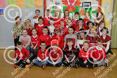 St David's Day 2019 Supplement  Rhydyfro Primary - year 1 + 2  Copyright © 2019 by Adrian White  Photography, all rights reserved. For permission to publish - contact me via www.adrianwhitephotography.co.uk Please respect copyright laws.