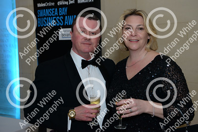 Swansea Bay Business Awards 2019 at the Brangwyn Hall Swansea..   Copyright © 2019 by Adrian White  Photography, all rights reserved. For permission to publish - contact me via www.adrianwhitephotography.co.uk Please respect copyright laws.