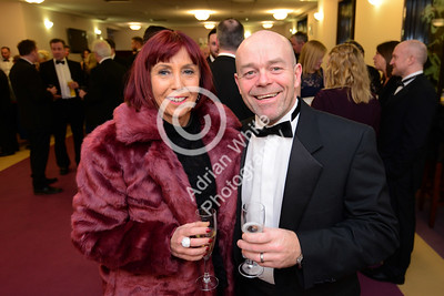 Wales Online Swansea Bay Business Awards at the Brangwyn Hall, Swansea...  Helen Necrews and Mark Evans  Copyright © 2018 by Adrian White Photography, all rights reserved. For permission to publish - contact me via www.adrianwhitephotography.co.uk Please respect copyright laws.
