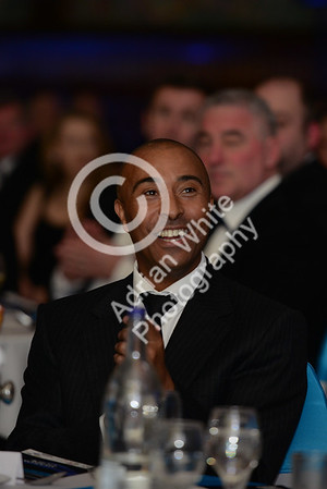 Wales Online Swansea Bay Business Awards at the Brangwyn Hall, Swansea...  Guest speaker Colin Jackson CBE    Copyright © 2018 by Adrian White Photography, all rights reserved. For permission to publish - contact me via www.adrianwhitephotography.co.uk Please respect copyright laws.