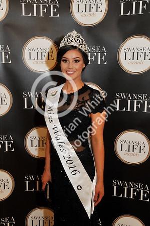 SWANSEA / Adrian White Copyright  Friday 16th July 2016 SWANSEA LIFE AWARDS 2016  Brangwyn Hall, Swansea