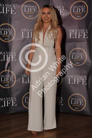Swansea Life Awards 2017 Brangwyn Hall, Swansea Award Winners, The Hair Lounge
