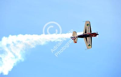 SWANSEA / Paul Turner Sunday 3rd July 2016 Wales National Air Show Swansea Bay Gerald Cooper - Extreme aerobatic display.