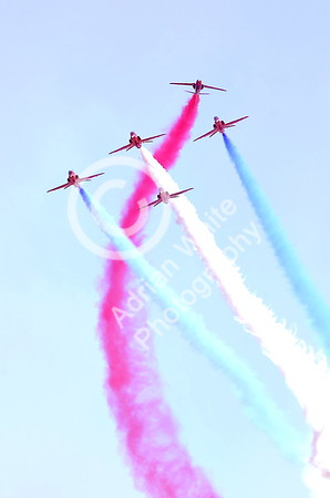 SWANSEA / with story Sunday 3rd July 2016 Wales National Air Show, Swansea Bay Red Arrows Display Team