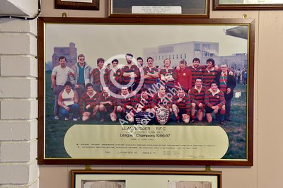Club Rugby in Wales... Llanybydder RFC - League Champions 86-87