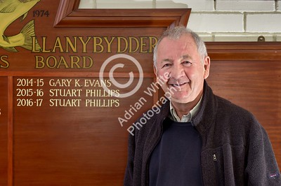Club Rugby in Wales... Llanybydder RFC.. committee member Terry Breverton