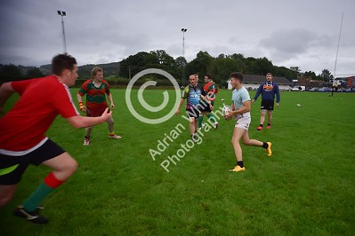 Club Rugby in Wales... Llanybydder RFC - Midweek training session.