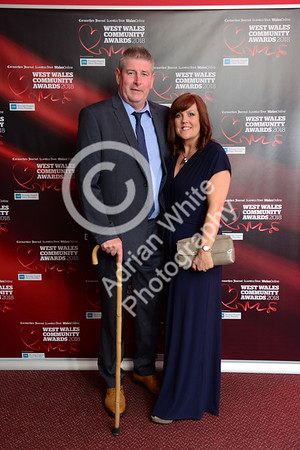 West Wales Community Awards 2018 at Parc y Scarlets, Llanelli. Hugh Williams  PLEASE BYLINE.. adrianwhitephotography.co.uk  Copyright © 2018 by Adrian White  Photography, all rights reserved. For permission to publish - contact me via www.adrianwhitephotography.co.uk Please respect copyright laws.