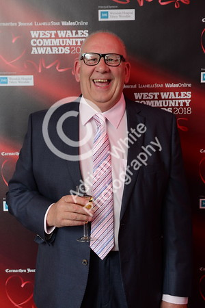 West Wales Community Awards 2018 at Parc y Scarlets, Llanelli. Alan Davies of sponsors LTC  PLEASE BYLINE.. adrianwhitephotography.co.uk  Copyright © 2018 by Adrian White  Photography, all rights reserved. For permission to publish - contact me via www.adrianwhitephotography.co.uk Please respect copyright laws.