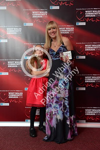 West Wales Community Awards 2018 at Parc y Scarlets, Llanelli.   PLEASE BYLINE.. adrianwhitephotography.co.uk  Copyright © 2018 by Adrian White  Photography, all rights reserved. For permission to publish - contact me via www.adrianwhitephotography.co.uk Please respect copyright laws.
