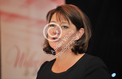 SWANSEA / Copyright Adrian White Friday 7th October 2016 Woman in Business Awards 2016, The Marriot Hotel. Guest speaker Leanne Wood leader of Plaid Cwmru