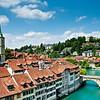 Bern, view from Nygenbrücke