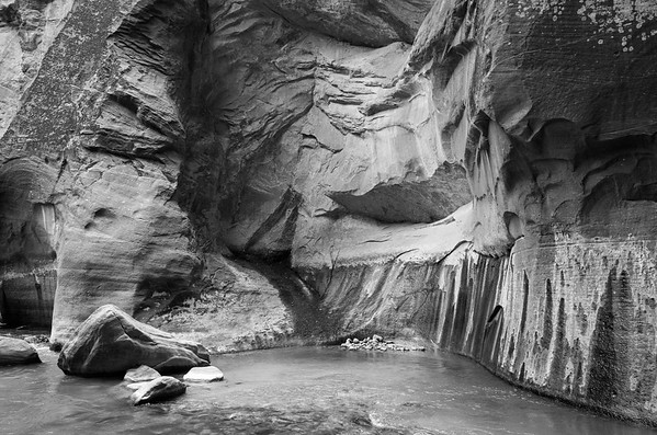 Virgin River canyon, Zion National Park