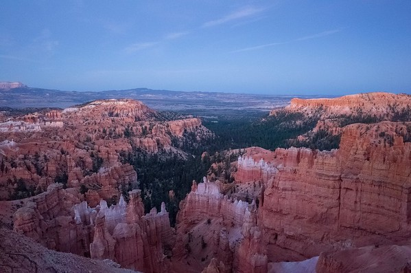 Bryce Canyon National Park, twilight