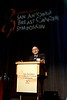 "San Antonio, TX -SABCS 2007: Joe W. Gray, PhD of Lawrence Berkeley National LaboratoryBerkeley, CA presents a paper on ""Omics"" research in individualized breast cancer treatment - letting the tumors teach during the SUSAN G. KOMEN FOR THE CURE BRINKER AWARDS FOR SCIENTIFIC DISTINCTION LECTURES at the San Antonio Breast Cancer Symposium here today, Thursday December 13, 2007 in the Henry Gonzalez Convention Center. Over 8,000 physicians, researchers, clinicians, caregivers and cancer survivors from over 60 countries gathered to hear the latest developments in Breast Cancer research and treatment. Date: Thursday December 13, 2007 Photo by © SABCS/Todd Buchanan 2007 Technical Questions: todd@toddbuchanan.com; Phone: 612-226-5154."