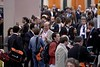 San Antonio, TX -SABCS 2007: Poster Session attendees gather at the San Antonio Breast Cancer Symposium here today, Saturday December 15, 2007 in the Henry Gonzalez Convention Center. Over 8,000 physicians, researchers, clinicians, caregivers and cancer survivors from over 60 countries gathered to hear the latest developments in Breast Cancer research and treatment. Date: Saturday December 15, 2007 Photo by © SABCS/Todd Buchanan 2007 Technical Questions: todd@toddbuchanan.com; Phone: 612-226-5154.