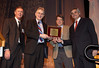 San Antonio, TX - SABCS 2010 San Antonio Breast Cancer Symposium: George W. Sledge, Jr., MD receives the WILLIAM L. MCGUIRE MEMORIAL LECTURE, SUPPORTED BY A GRANT FROM GLAXOSMITHKLINE at the 2010 San Antonio Breast Cancer Symposium here today, Saturday December 11, 2010. Over 9,000 physicians, researchers, patient advocates and healthcare professionals from over 90 countries attended the meeting which features the latest research on breast cancer treatment and prevention. Date: Saturday December 11, 2010 Photo by © SABCS/Todd Buchanan 2010 Technical Questions: todd@medmeetingimages.com; Phone: 612-226-5154.