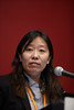 "San Antonio, TX - SABCS 2010 San Antonio Breast Cancer Symposium: Gao Gao speaks at the Press Conference: ""Metastasis"" at the 2010 San Antonio Breast Cancer Symposium here today, Friday December 10, 2010. Over 9,000 physicians, researchers, patient advocates and healthcare professionals from over 90 countries attended the meeting which features the latest research on breast cancer treatment and prevention. Date: Friday December 10, 2010 Photo by © SABCS/Todd Buchanan 2010 Technical Questions: todd@medmeetingimages.com; Phone: 612-226-5154."