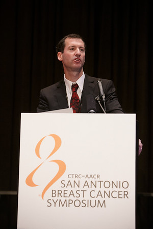 San Antonio, TX - SABCS 2011 San Antonio Breast Cancer Symposium: Ian E. Krop , MD, PhD discusses HER2 positive during the Treatment of Metastatic Breast Cancer – Breast Cancer as a Chronic Disease at the 2011 San Antonio Breast Cancer Symposium here today, Tuesday December 6, 2011. Over 9,000 physicians, researchers, patient advocates and healthcare professionals from over 90 countries attended the meeting which features the latest research on breast cancer treatment and prevention. Date: Tuesday December 6, 2011 Photo by © SABCS/Todd Buchanan 2011 Technical Questions: todd@medmeetingimages.com; Phone: 612-226-5154.