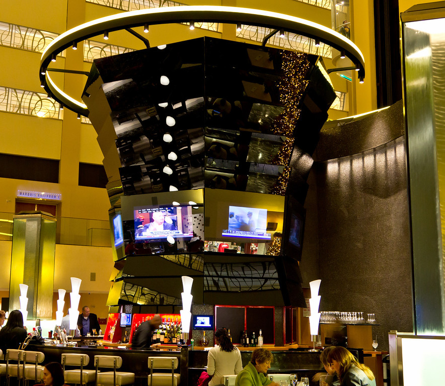 Inside the Marriot