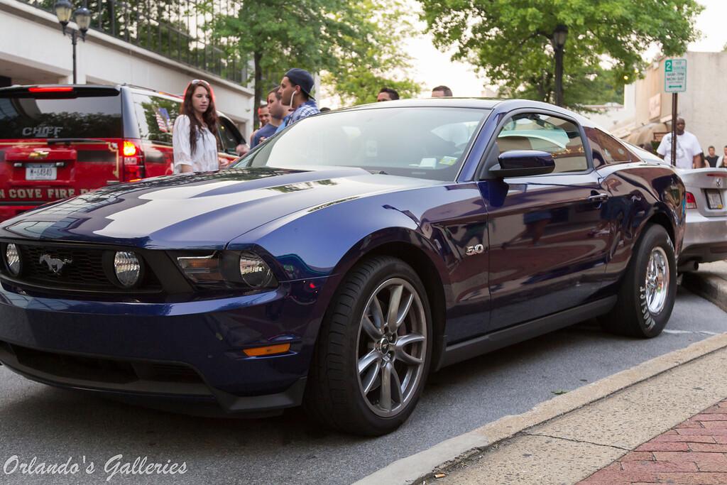 Car show in Glen Cove Long Island