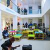 Max Goldfarb (guitar) - Visiting Lecturer, Sculpture; Steven Chodoriwsky (guitar) - Banham Fellow 2016-17; Chris Lee (keys) - Graphic Design, Department of Art